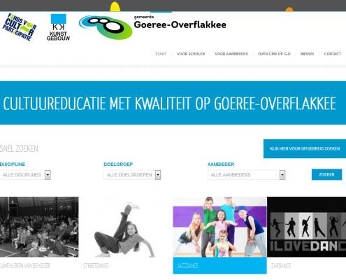 WordPress website met maatwerk zoekfunctie