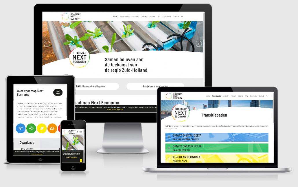 Maatwerk ontwerp in WordPress website